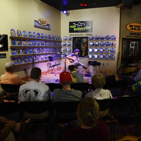 WDVX at Visit Knoxville, Knoxville TN