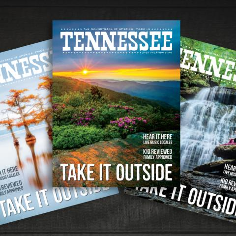 2020 Tennessee Vacation Guide covers with outdoor landscapes