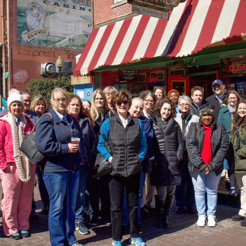 Tennessee Welcome Center Staff Experienced Memphis during Familiarization Tour
